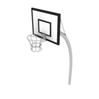 Basketball Hoop with Rectangular Backboard