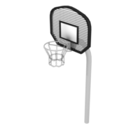 Mini Basketball Hoop with Fan-Shaped Backboard