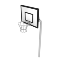Basketball Hoop with HPL Backboard