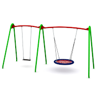 Modular Birds Nest Swing with 2 Seats